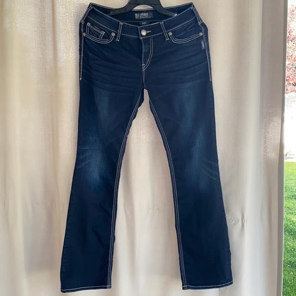 Silver Jeans Suki Super Stretch Mid Slim boot